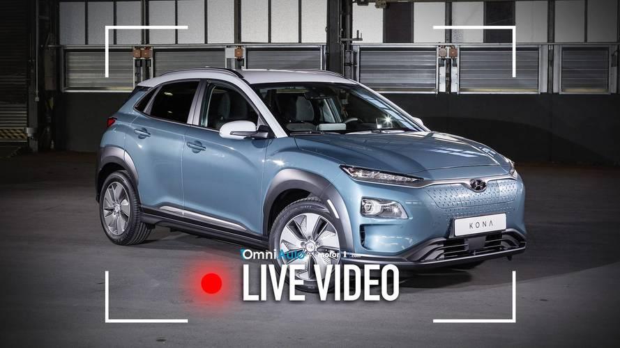 Hyundai Kona Electric, ecco com'è vista dal vivo