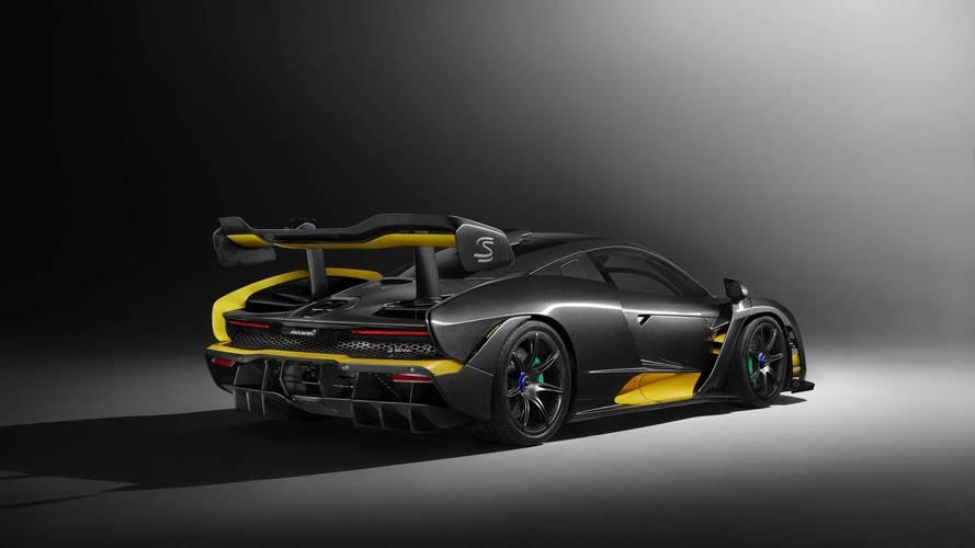 Carbon Theme McLaren Senna Puts Carbon-Fiber Bodywork on Display