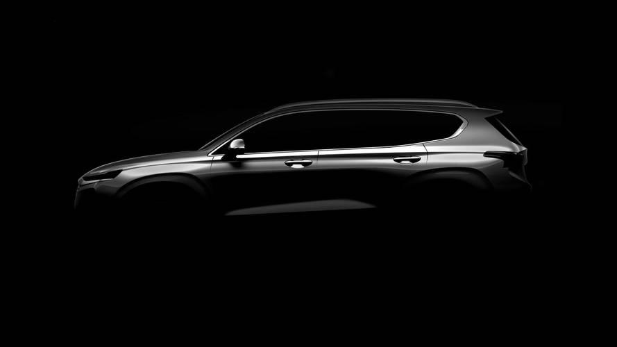Hyundai dévoile une première image du nouveau Santa Fe