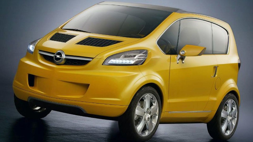 Opel developing new minicar based on Trixx concept for 2013