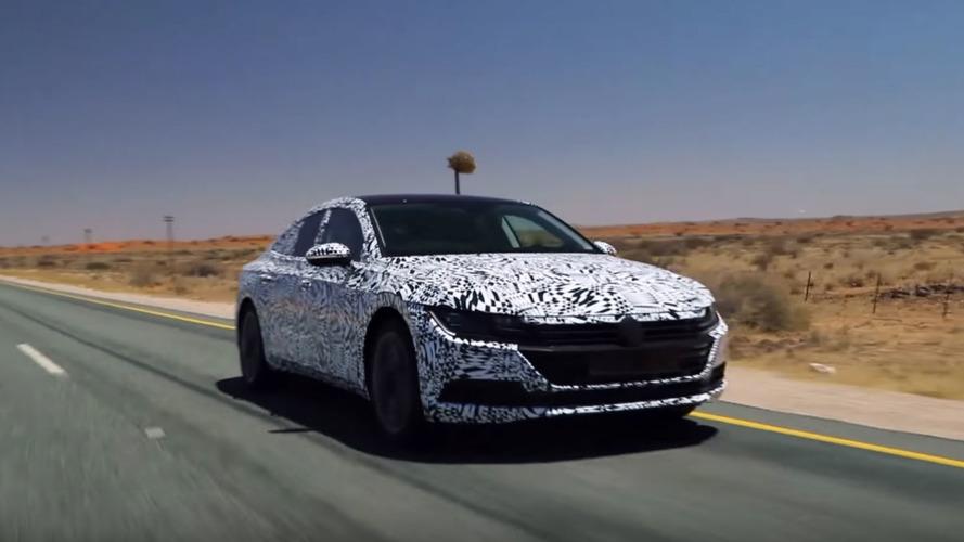 VIDÉO - La Volkswagen Arteon prend déjà la route !