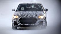 Audi A1 2019 flagrado pela primeira vez