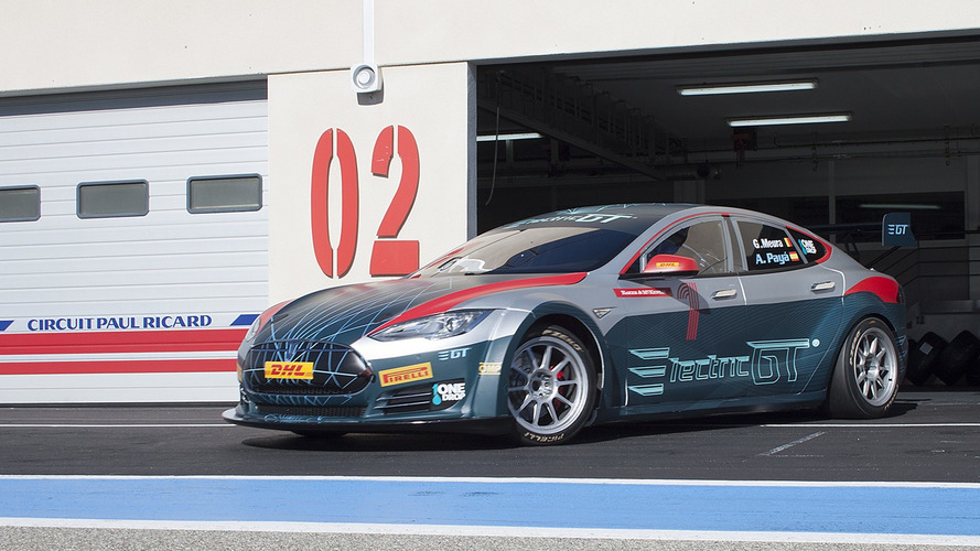 Electric GT Tesla Model S
