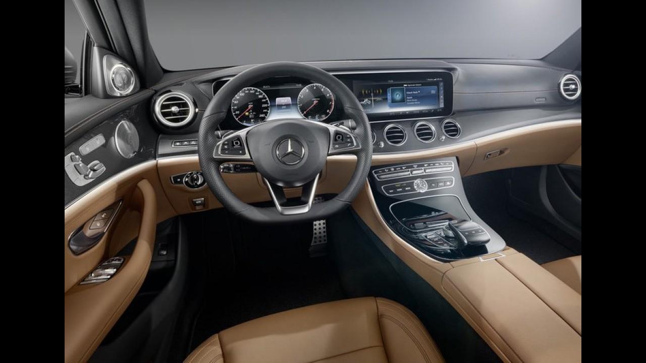 Vazou: novo Mercedes Classe E 2017 é revelado por completo - veja fotos