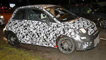 Fiat 500 Abarth spy photo
