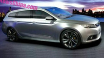 Geely concept spy photo