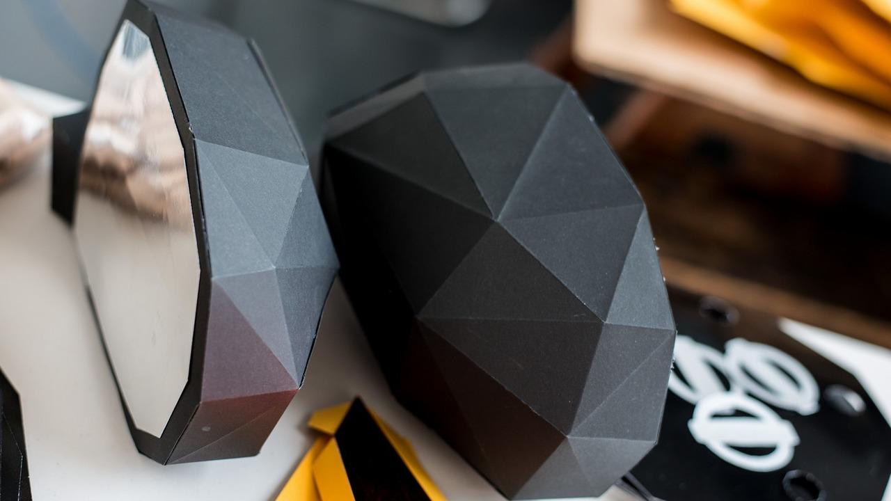 Nissan Juke full-size origami replica
