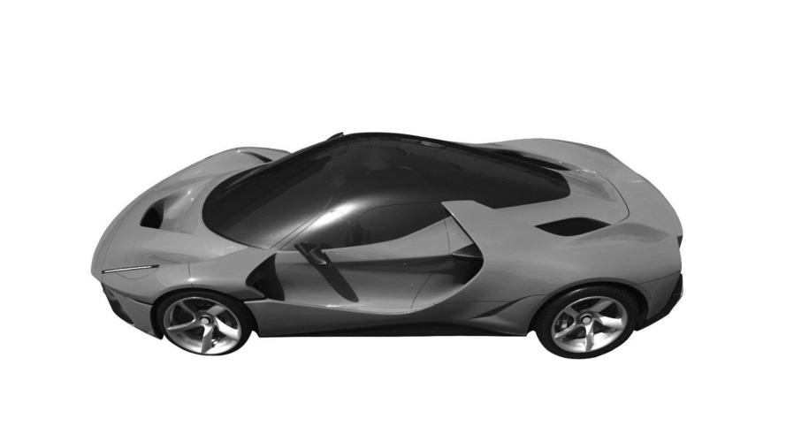 İlginç Ferrari patenti fotoğrafları