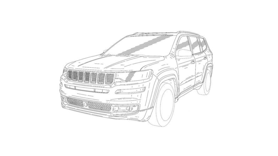 Sızan Jeep patent çizimleri Grand Commander'ın mı?