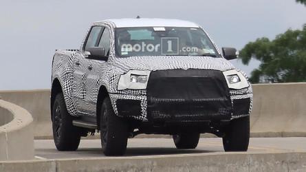 Flagra! - Inédita Ford Ranger Raptor já começa a sair da toca