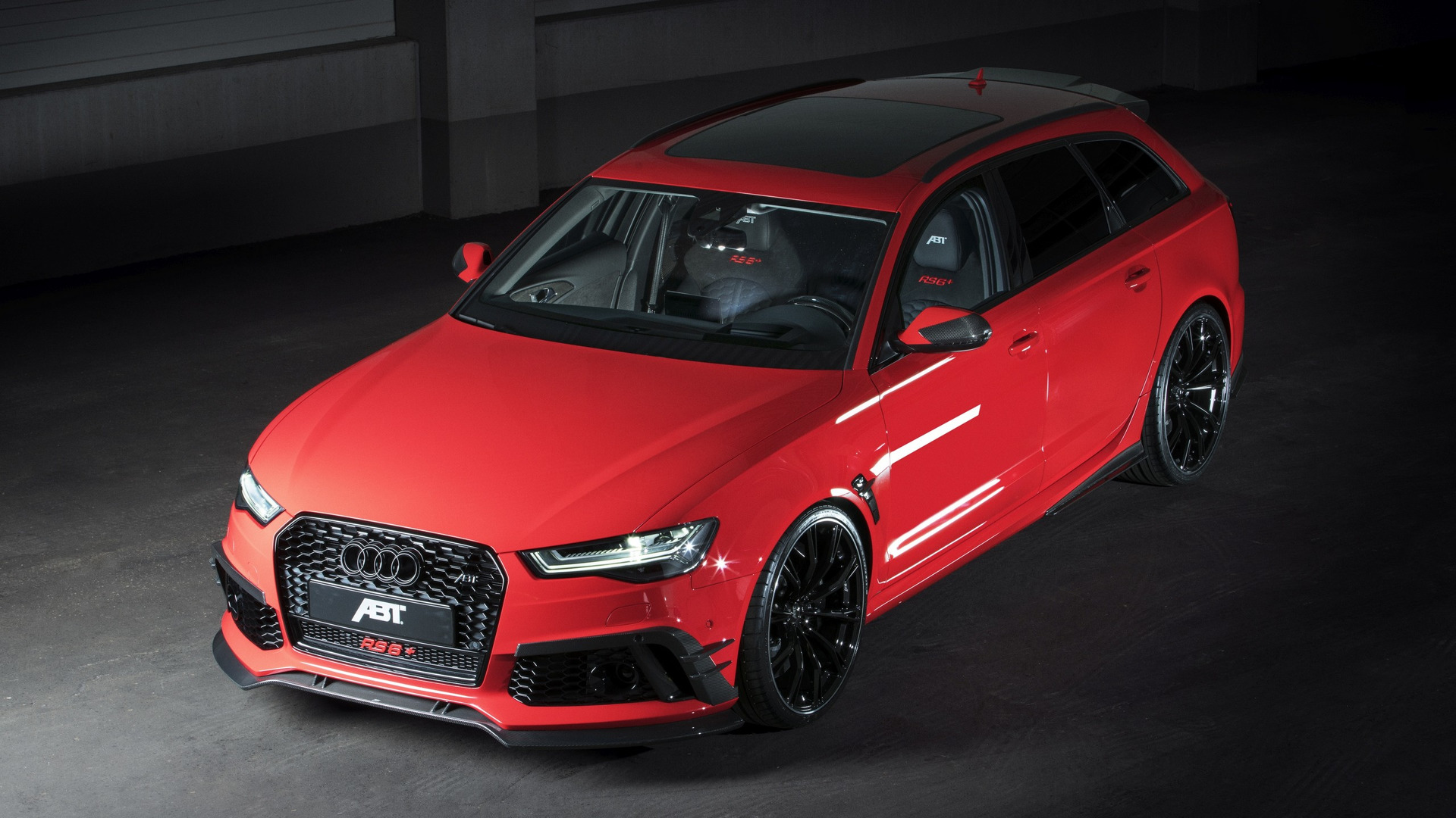 Audi Rs6 Avant By Abt Is 95 Hp Stronger Than An R8 V10 Plus