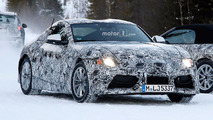 Toyota Supra and BMW Z5 Spy Pics