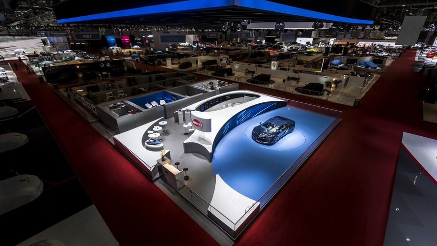 Bugatti voted best stand at Geneva Motor Show