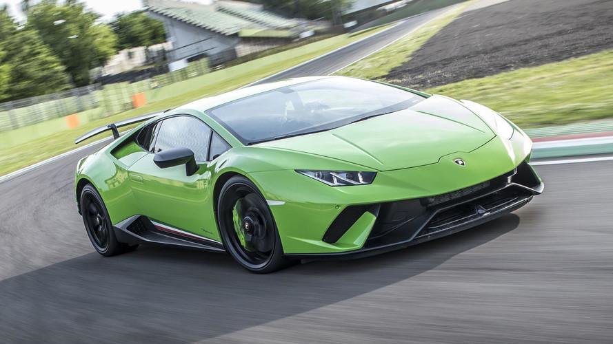 PHOTOS – La Lamborghini Huracán Performante dans ses moindres détails !