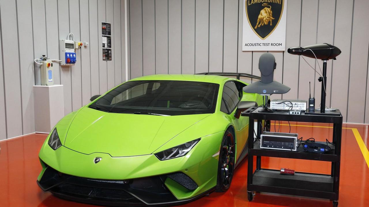 Lamborghini akustik test odası