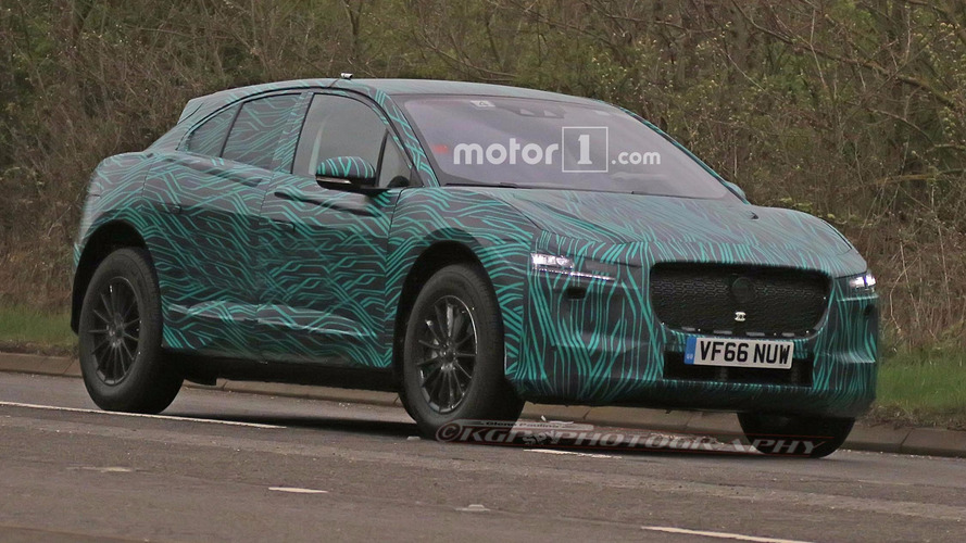 2018 Jaguar I-Pace Spied During Testing On British Roads