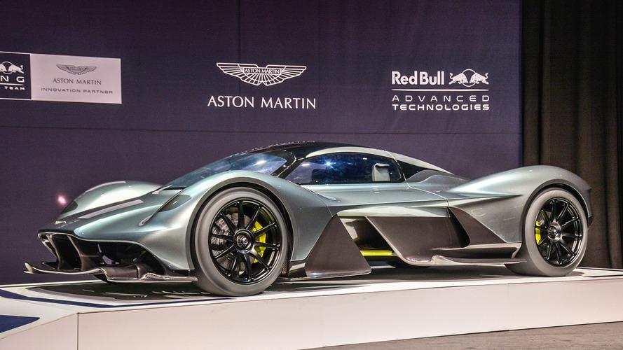 Aston Martin AM-RB 001 şimdi de Toronto'da