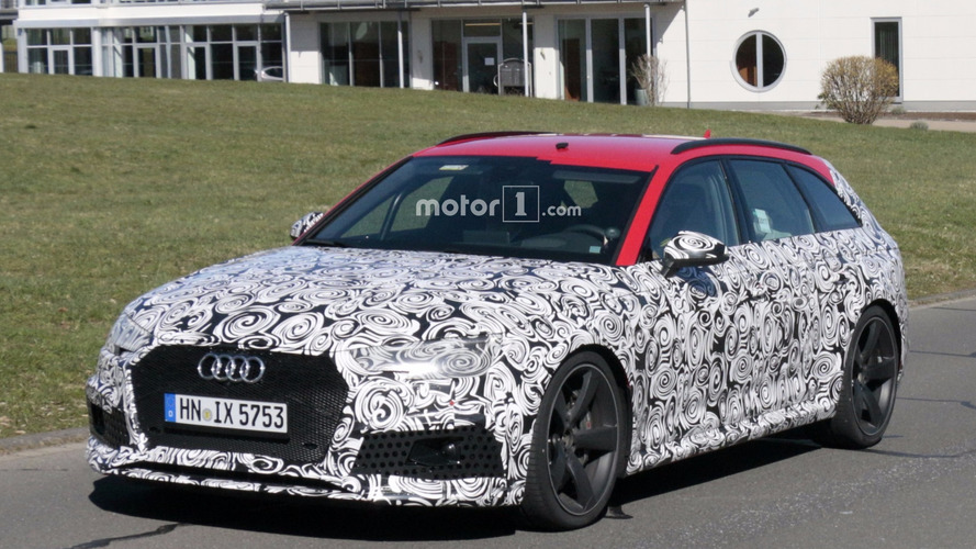 Audi RS 4 Avant 2018 fotos espía