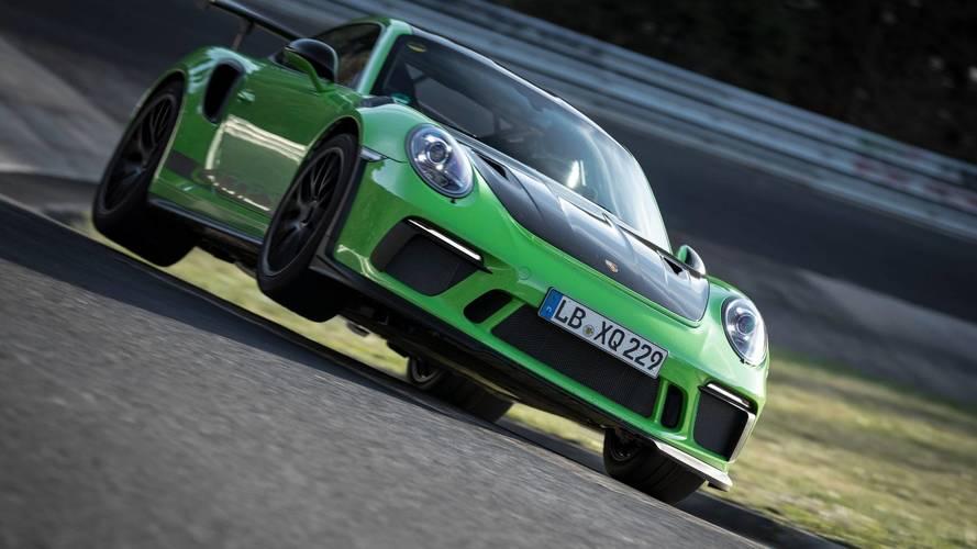 Porsche 911 GT3 RS, record al 'Ring: meno di 7 minuti