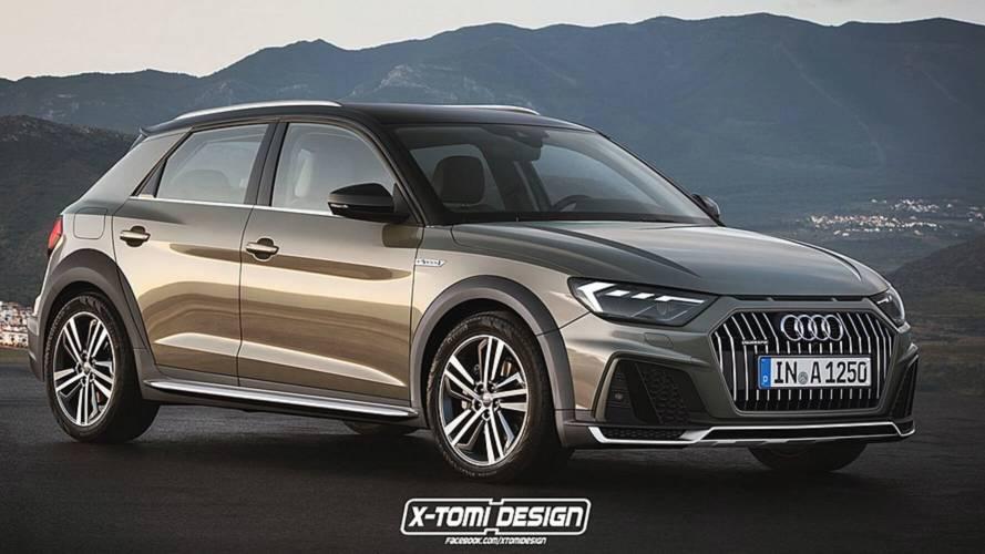 2018 Audi RS1, RS1 Clubsport Quattro, A1 Avant, A1 Allroad render'ları