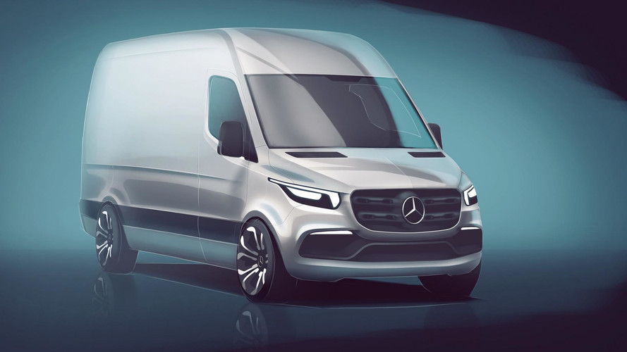 2018 Mercedes Sprinter teaser