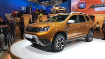 2018 Dacia Duster live photos
