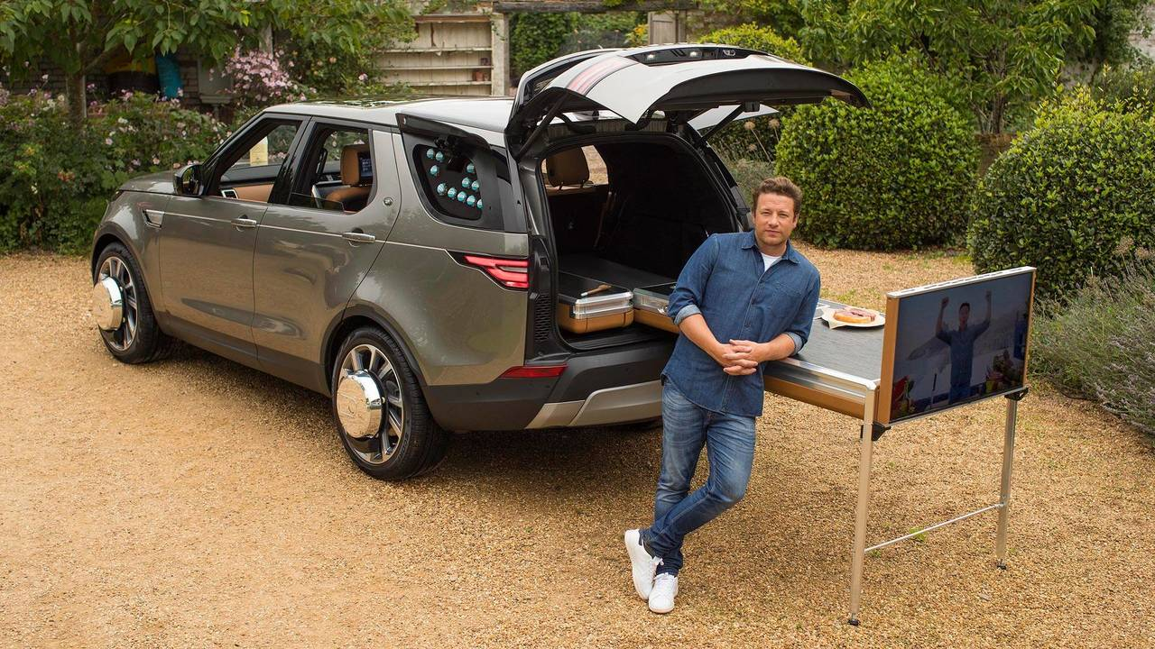 Jamie Oliver Custom Land Rover Discovery
