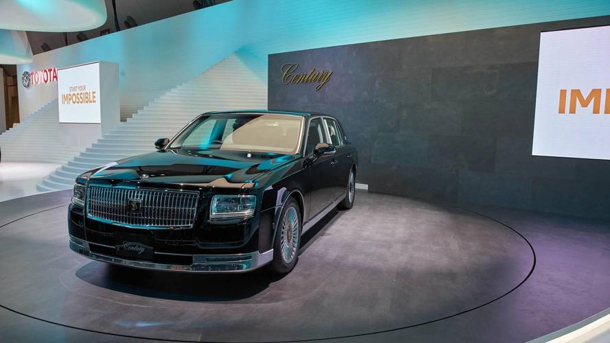 Toyota Century could be sold outside of Japan