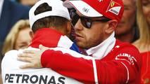 2017 World Champion Lewis Hamilton, Mercedes AMG F1, Sebastian Vettel, Ferrari