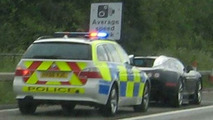 British Police Stop Bugatti Veyron