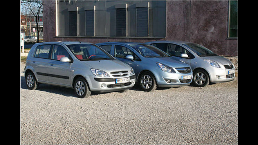 Stadtwiesel mit Diesel: Drei Kleinwagen im Vergleichstest