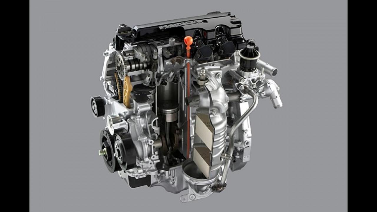 Hondas neuer 1,8-Liter