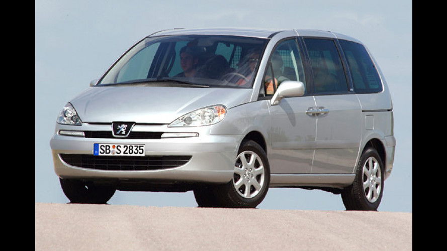 Groß und komfortabel:Sondermodelle vom Peugeot 807