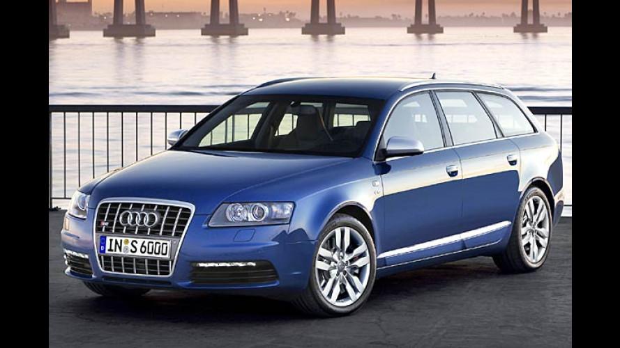 S ist angerichtet: Der Audi S6 kommt mit mega-starkem V10