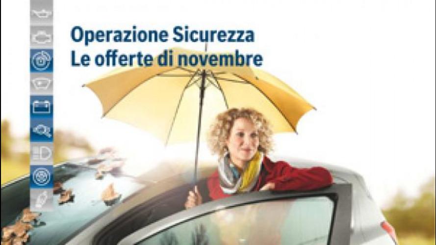 Manutenzione auto, al via le promozioni Bosch per l'autunno e l'inverno