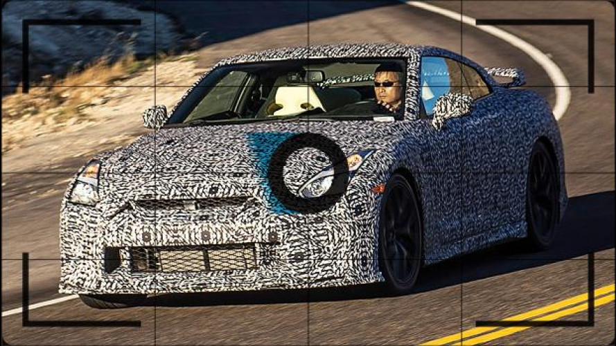 Nissan GT-R, nuovo frontale per il restyling