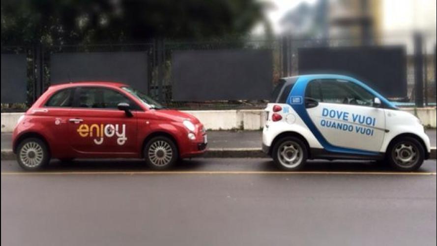 Car sharing: periferie a rischio