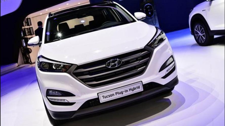 Hyundai Tucson Plug-in Hybrid concept, ibrida full a Ginevra