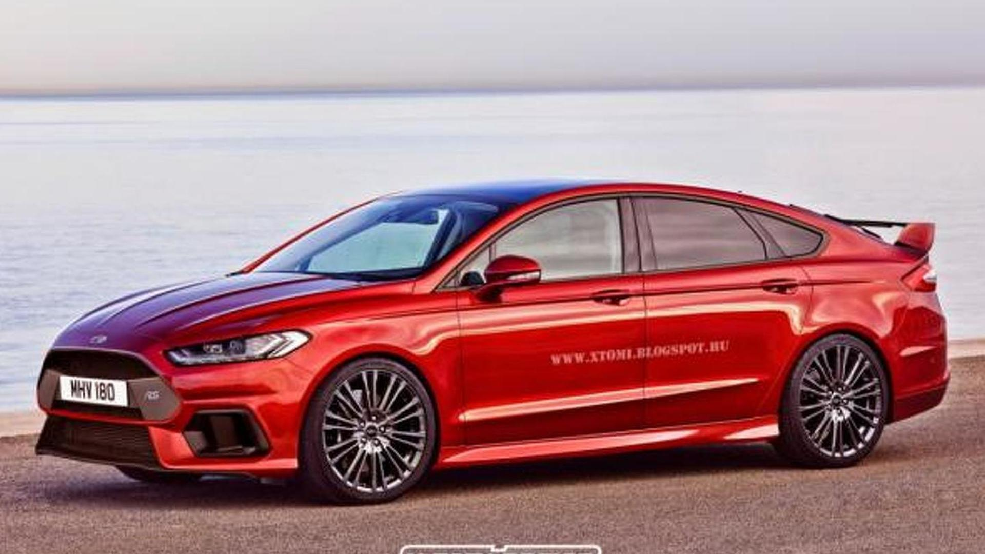 2019 Ford Mondeo >> Ford Mondeo RS renders show great potential