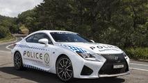 Lexus RC F for NSW Police in Australia