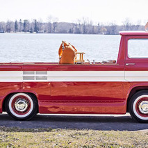 World's Only Chevrolet Corphibian Heading to Auction, By Land or Sea
