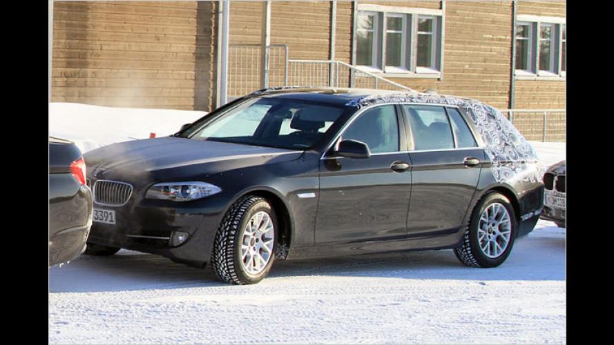 Erwischt: Neuer BMW 5er Touring im Partnerlook
