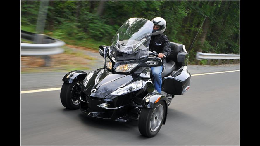 Neue Touringversion: BRP Can-Am Spyder Roadster RT