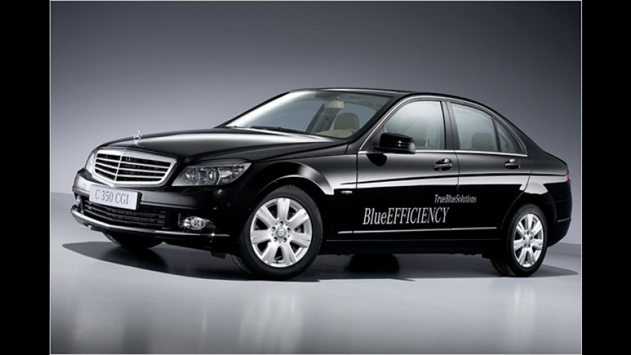 BlueEFFICIENCY: Mercedes bringt drei Spar-Modelle
