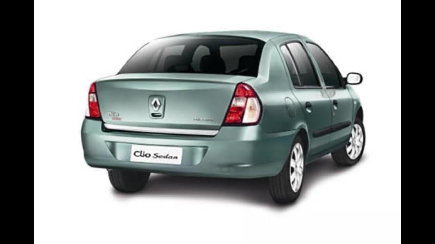Renault Clio Sedan Plug - completo com mp3 e DVD