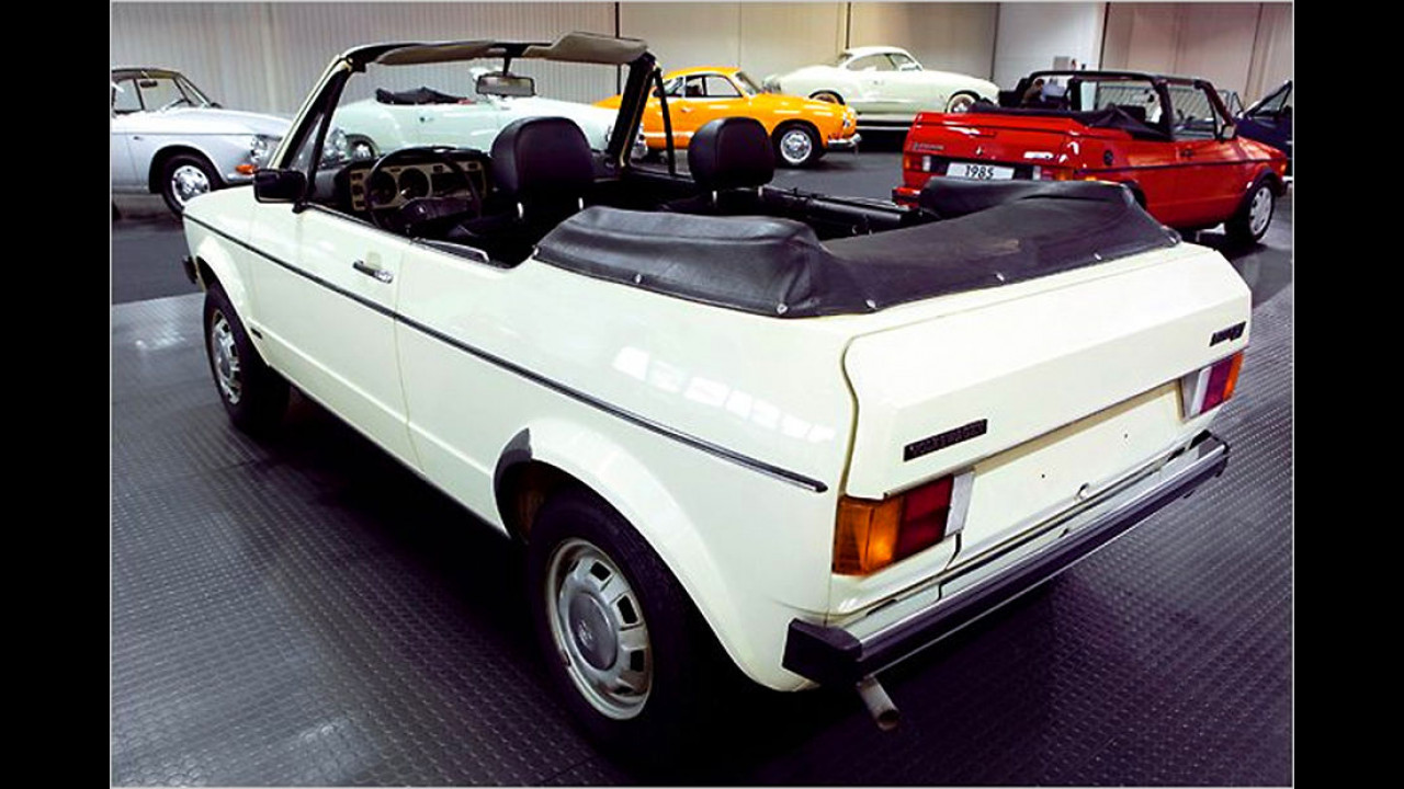 VW Golf Cabrio Prototyp