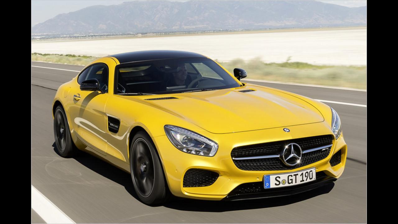 Platz 7: Mercedes-AMG GT, 214 Neuzulassungen