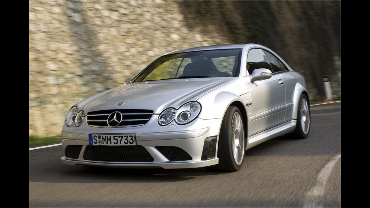 Mercedes CLK 63 AMG Black Series, 2007