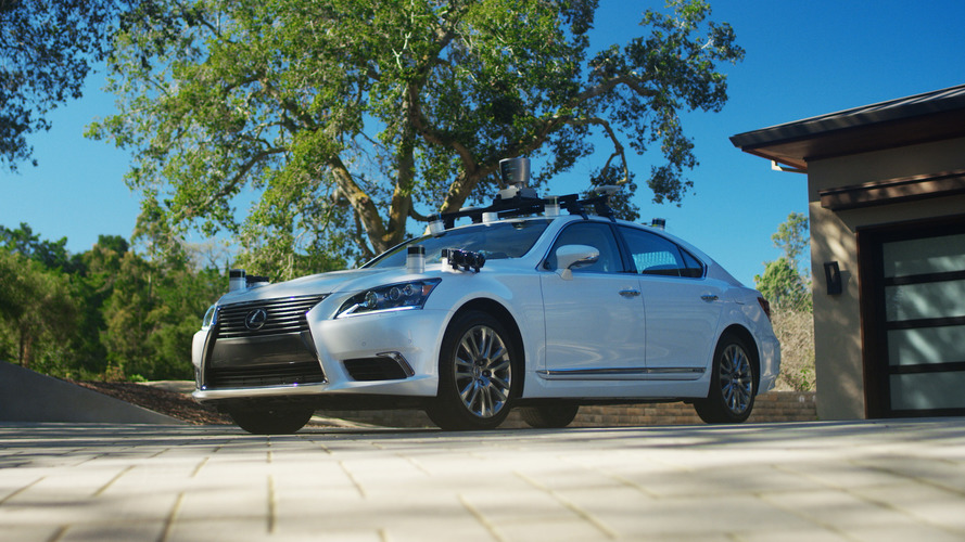 Toyota shows off its first autonomous vehicle