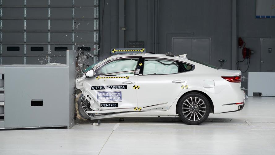 2017 Kia Cadenza Crashes Its Way To Top Safety Pick+ Award